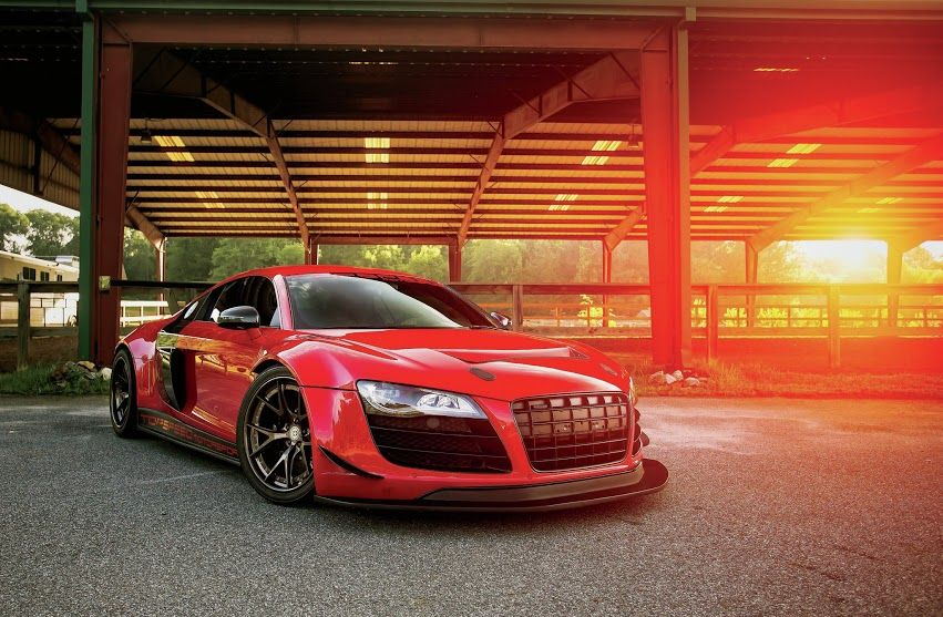 Mean Audi R8 By TopSpeed Motorsports.