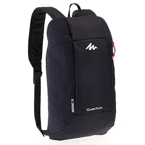 dc5c0f706f Decathlon Arpenaz 10 Liters Lighweight Backpack Dark Charcoal     This is  an Amazon Affiliate link. Click image for more details.