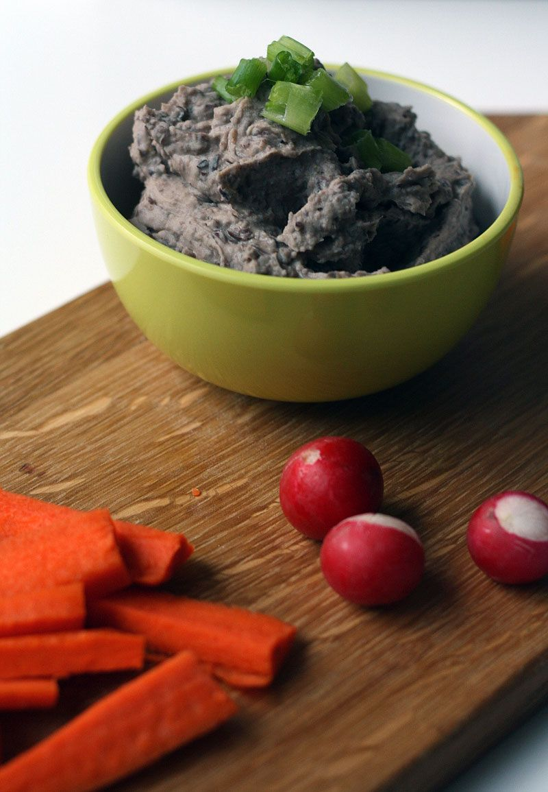 Vegane Partyhäppchen Vegan Black Bean Dip Simple To Make A Perfect Party Snack