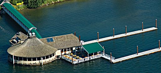 The Cedars Floating Restaurant Is Idaho S Premier Founded In 1965 Floats At Confluence Of Lake Coeur D Alene And