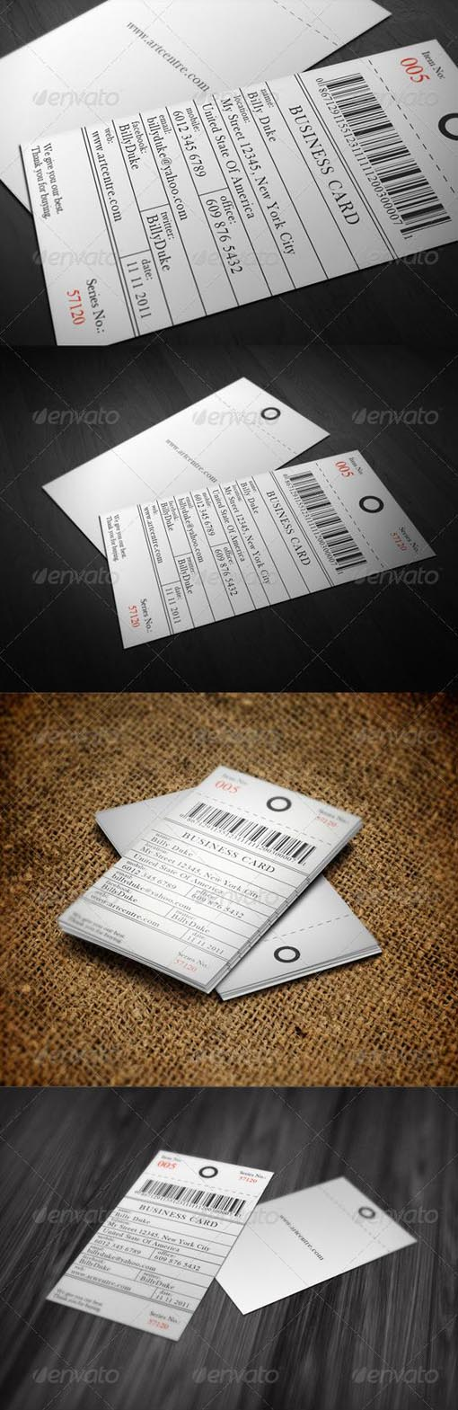 price tag business card - Google Search | Quiverr Biz Cards ...