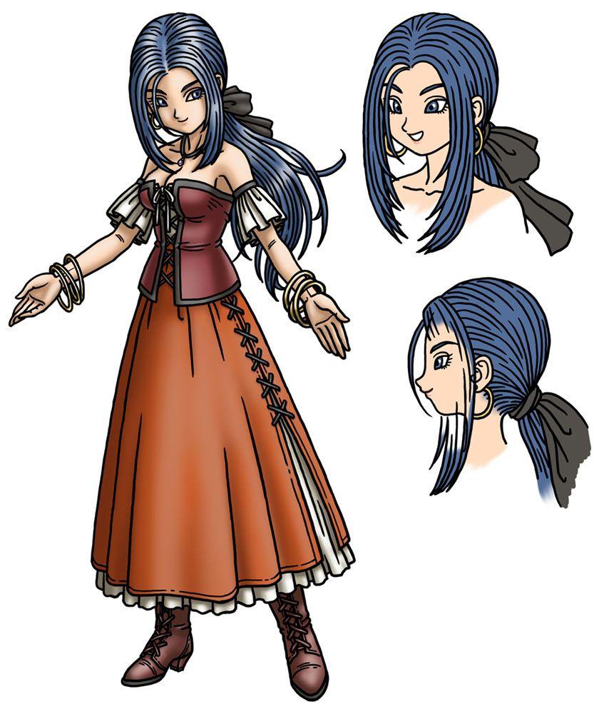 Patty Characters Art Dragon Quest Ix Dragon Quest Dragon Warrior Dragon Ball Art