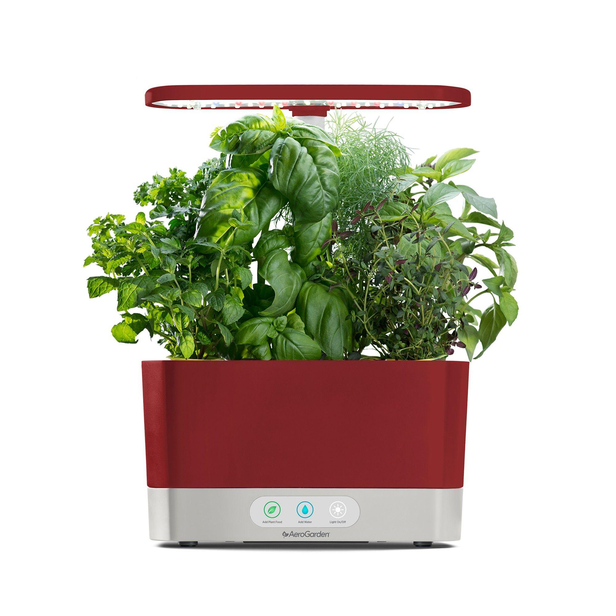 Aerogarden Harvest With Gourmet Herbs 6 Pod Seed Kit Red 640 x 480