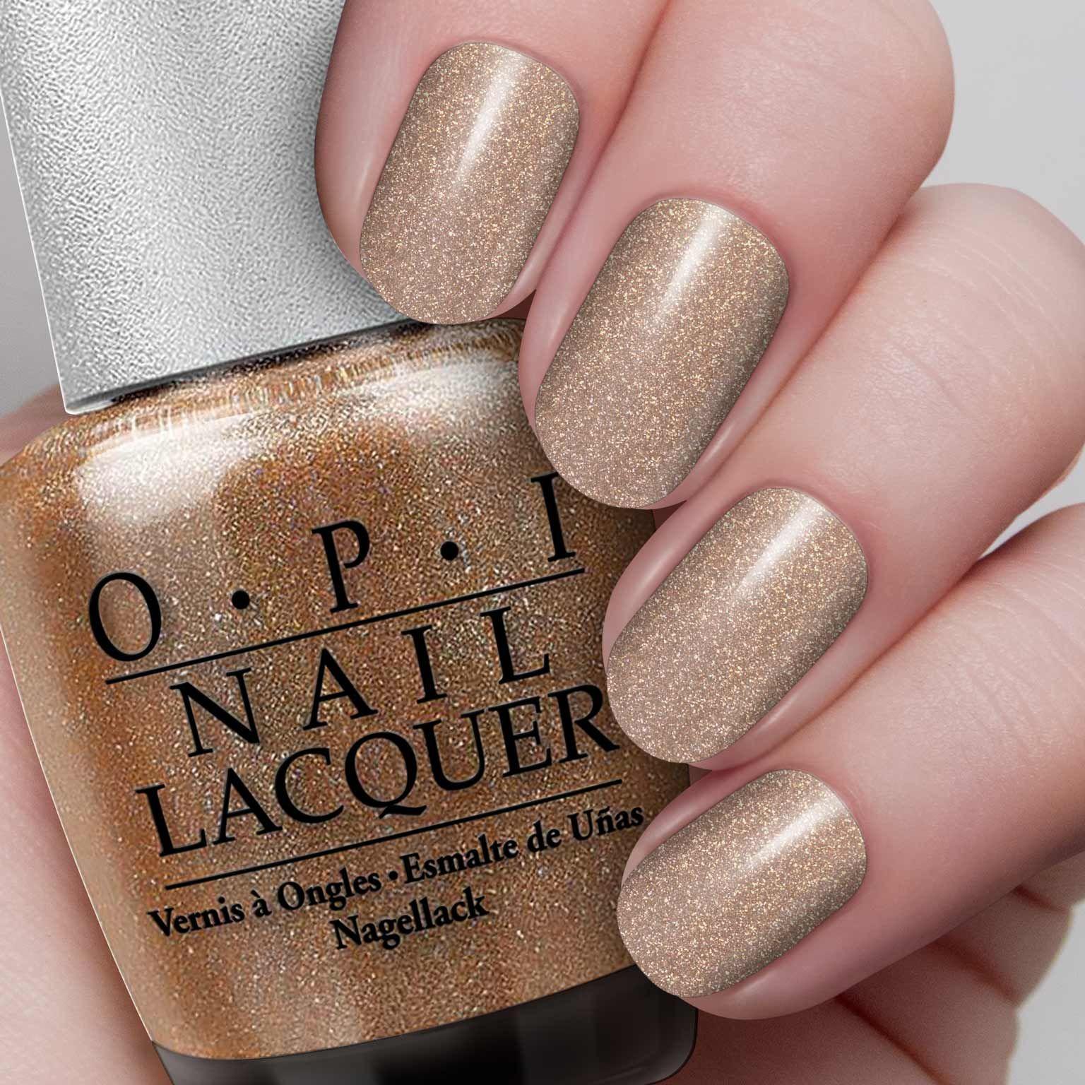 an elegant shimmer of golden beige. ds classic | nails | pinterest