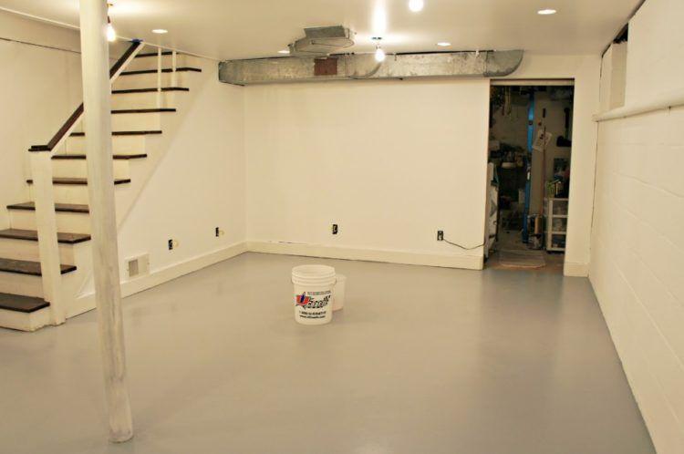 Basement Floor Paint Best Flooring For Basement Basement Flooring Options Concrete Basement Floors