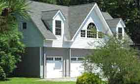 Behm Design Garage Plan 2152 1, Built Example In The Carriage House Style.