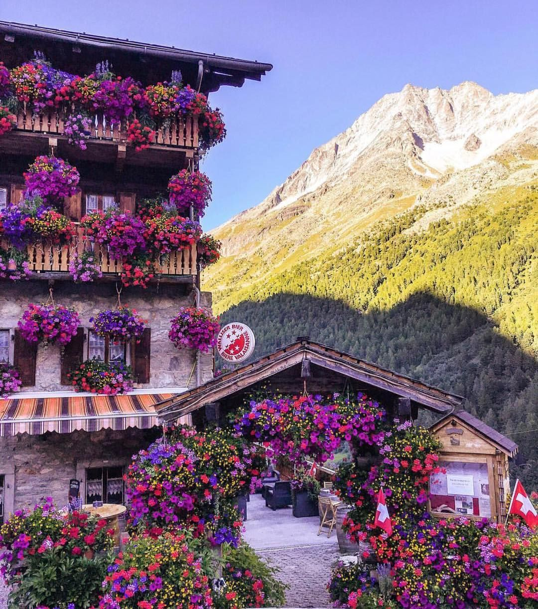 The Glacier Hotel in #Switzerland, shot by @sennarelax ❤️ #travel #luxury #europe #summer ☀️