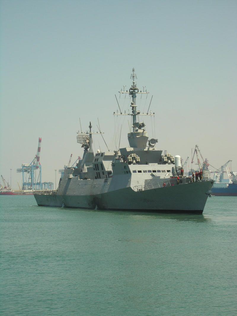 Israeli Navy 1,227t/ 1,350 ton Sa'ar 5 Eilat Class corvettes