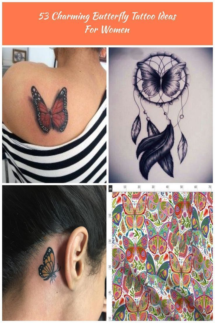 Photo of Charming Butterfly Tattoo Ideen für Frauen 10 Half Butterfly Tattoo 53 Cha … …