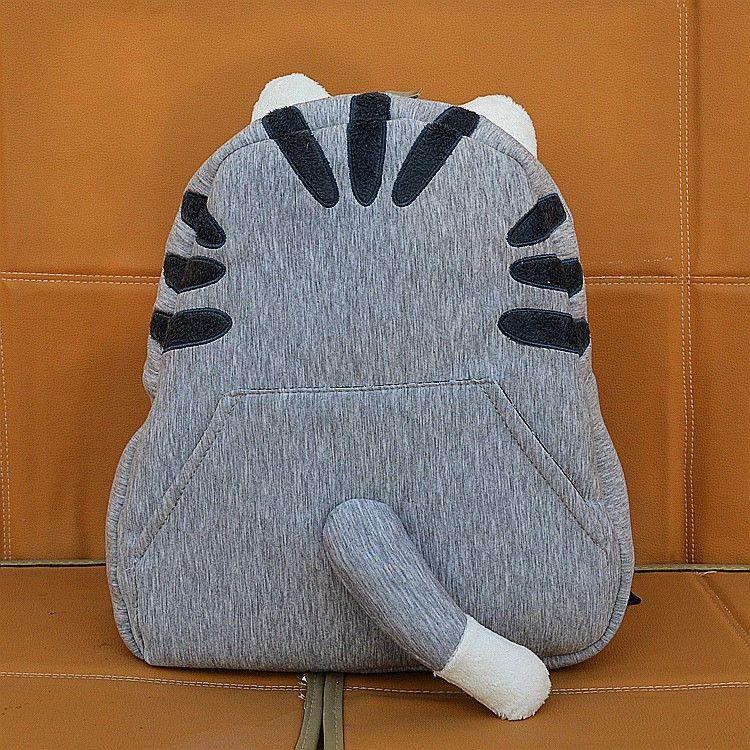 Pusheen Cat Tail Backpack Cartoon Bag Super Adorable
