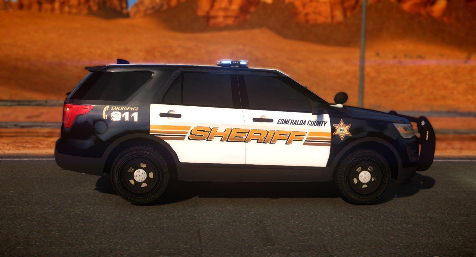 Nv Esmeralda County Sheriffs Dept Police Cars Police Sheriff