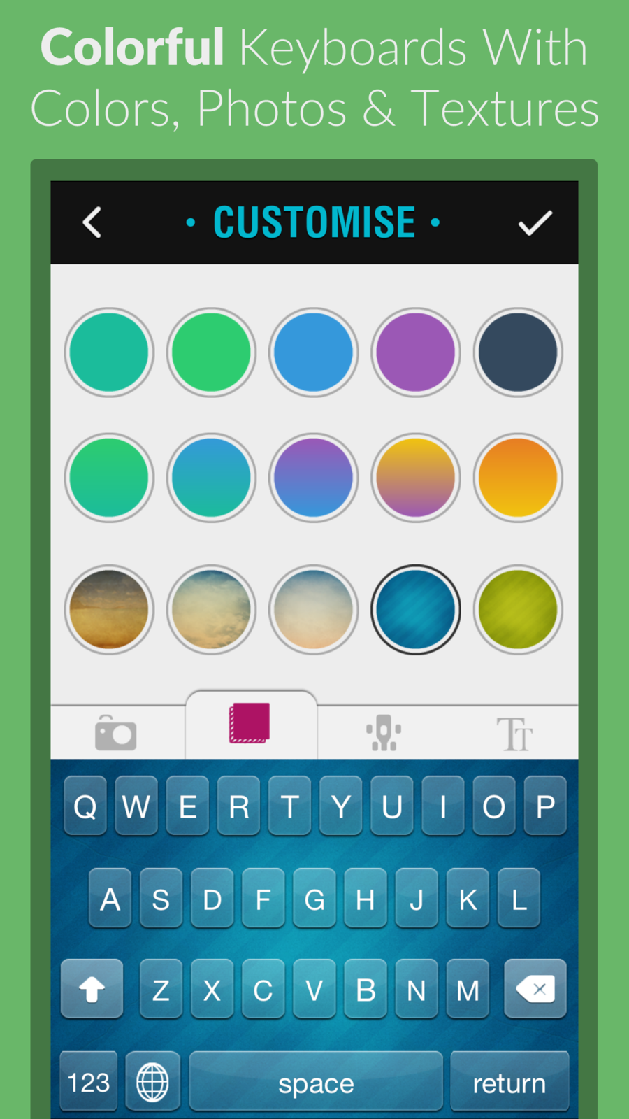 Fancy Keyboard Themes - Custom HD Color Keyboard Theme Background