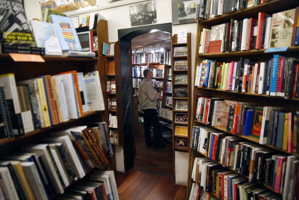 The famed City Lights bookstore in North Beach. Photo: Scott Strazzante, The Chronicle
