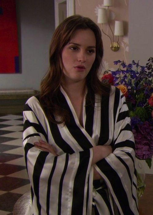 blair waldorf wears a vintage josie natori robe season 5  episode 21   u201cdespicable b u201d