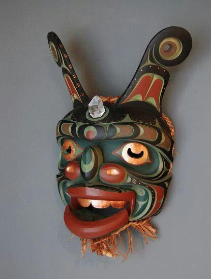 Amazing ceremonial Dance mask