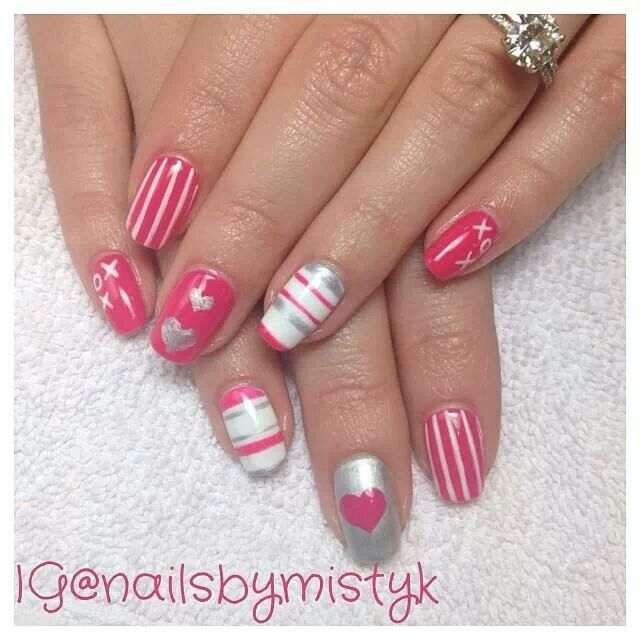 Nails by Misti Matsuzaki Omaha, NE | Uña | Pinterest | Hair make up ...