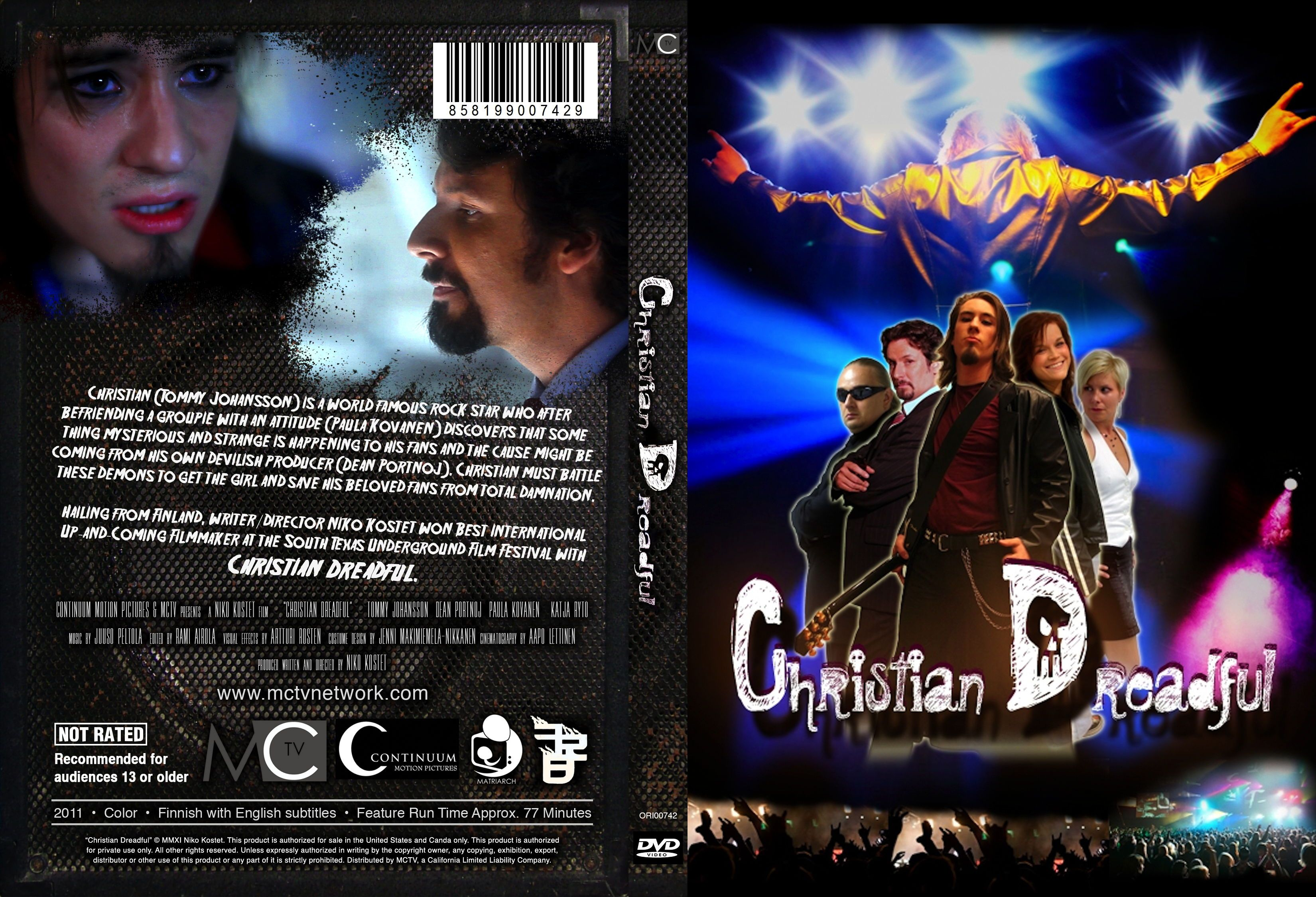 Christian Dreadful is a dark comedy from Finland that is making its DVD  debut in the