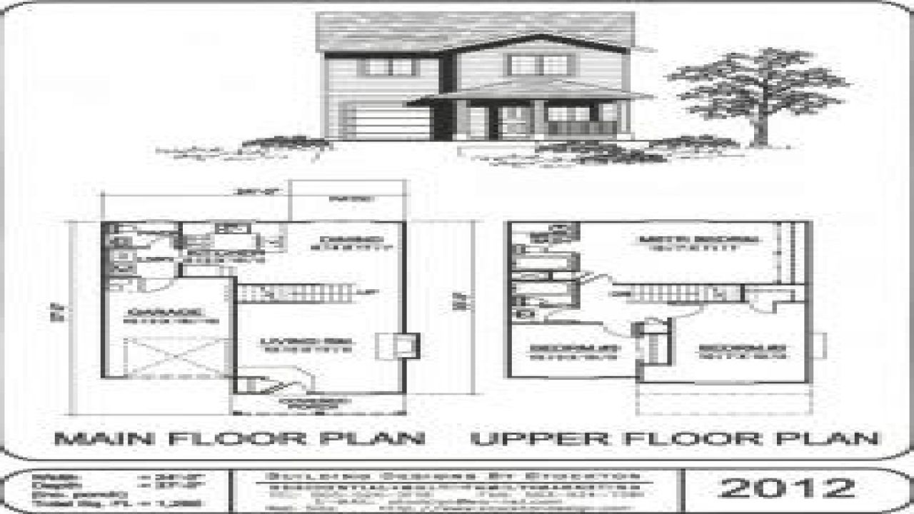 Small Two Story House Plans Simple Houses Picture Images ...