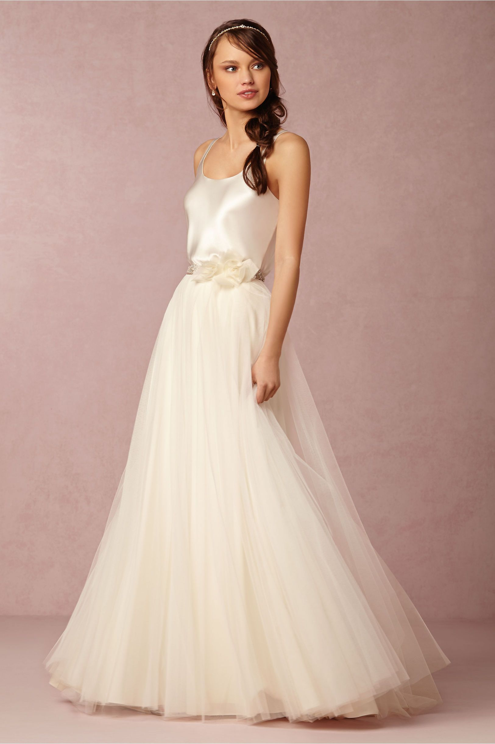 Gracia Skirt And Perpetuity Camisole In Bride Wedding Dresses At Bhldn
