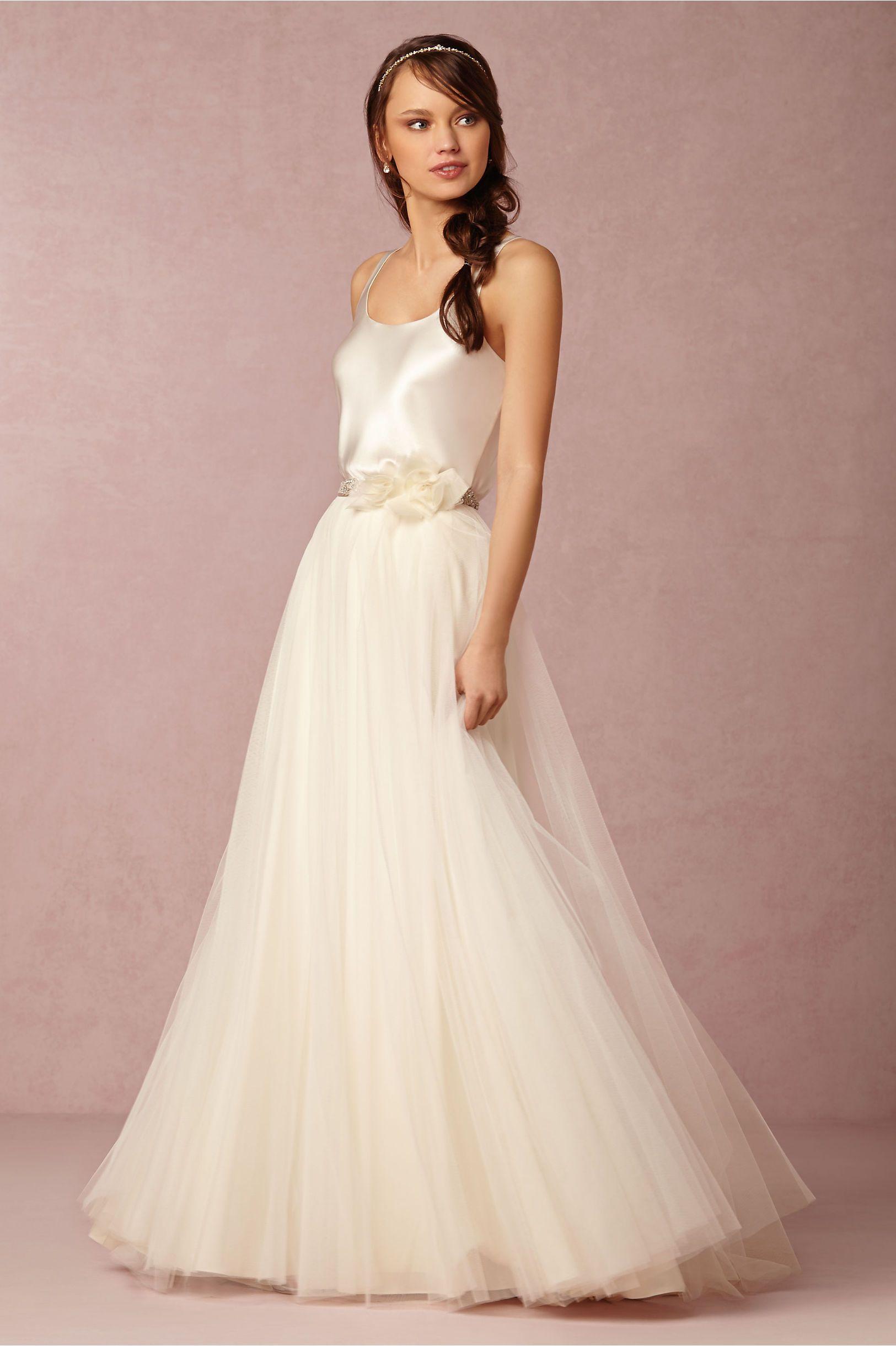 Gracia Skirt in Sale at BHLDN | Boda • Ambientación | Pinterest ...