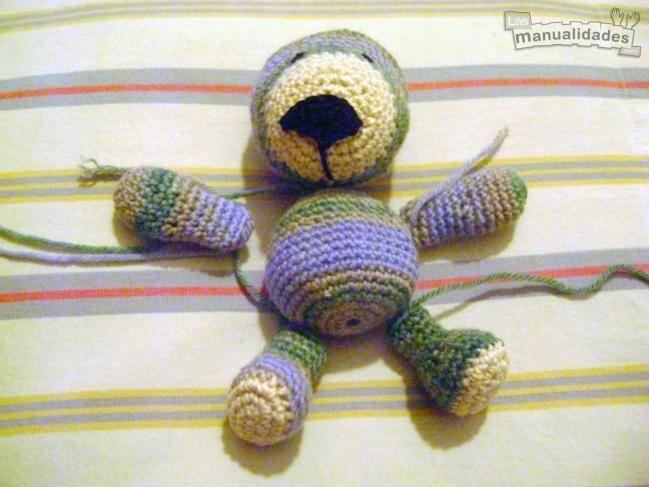 Osito de amigurumi para bebés - IMujer