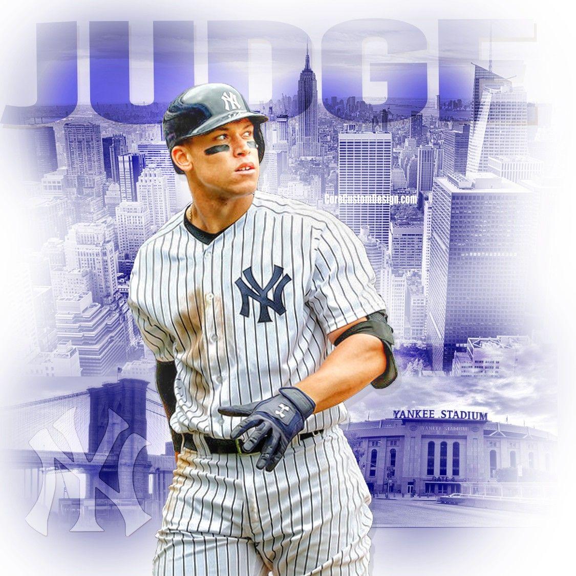 Aaron Judge Ny Yankees Graphics By Core Custom Design Ny Yankees New York Yankees Yankees