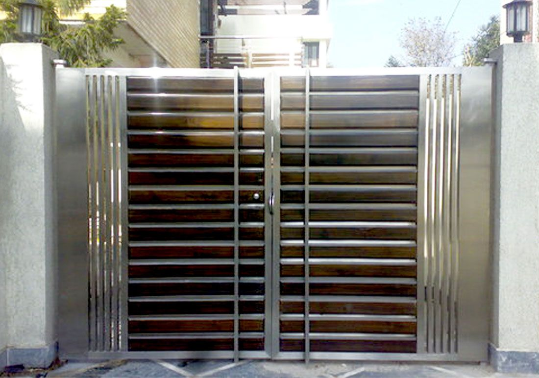 Manufacturers of highly durable stainless steel main gates for homes   offices  commercial   industrial. Manufacturers of highly durable stainless steel main gates for