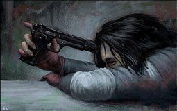 Imagine the pain of Steve dying being too much for Bucky that he wants to take his own life every single night. The gun shaking in his hand as he rests it on his forehead, ready to leave this life. He doesn't do if because he knows he must take Steve's place. So he finds a way to cope with the pain of losing him by killing. Killing the bad guys, killing those who have done wrong because it's the only thing that will make up for the lives he took when he was used by Hydra.