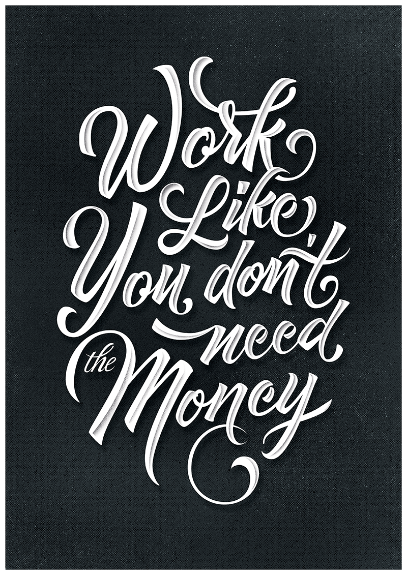 Quote poster design inspiration - 90 Of The Best Typographic Designs Of 2014