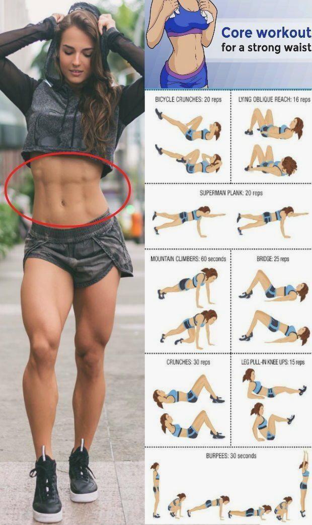 5 Übungen, um Ihre Taille zu trainieren und diesen Kern zu krümmen   Yoga & Fitness #bauchtraining #yoga #goodcoreexercises