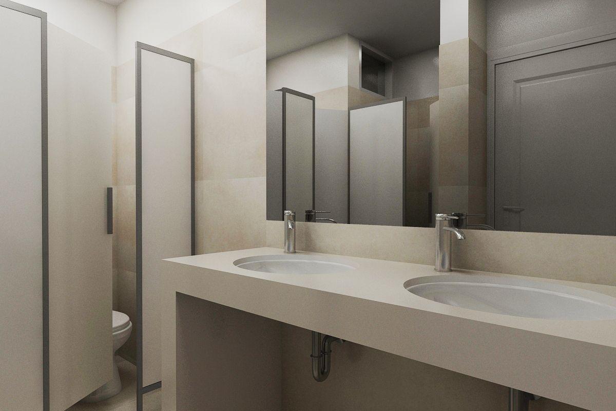 diseño de baño publico | thinks | pinterest | diseño de baño, baño