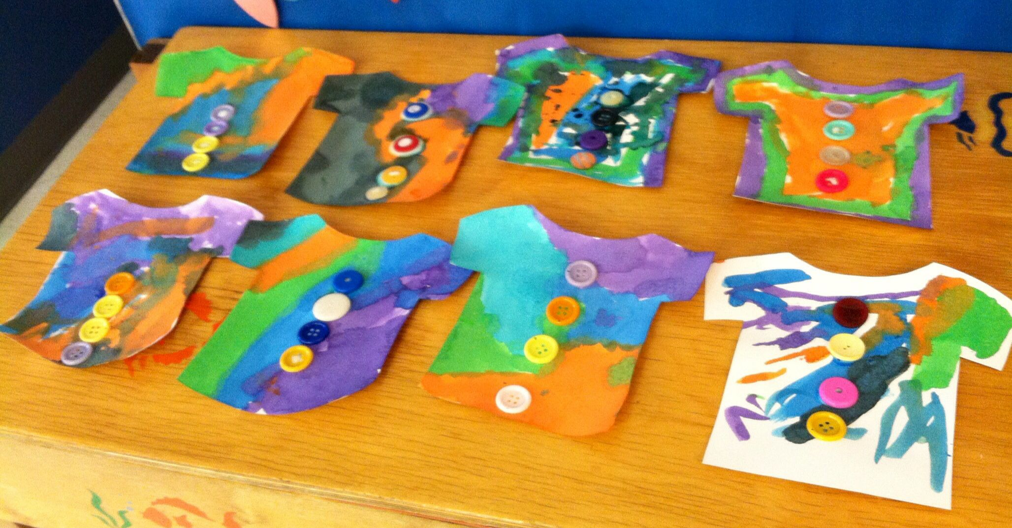Pete The Cat And His Four Groovy Buttons Preschool Art