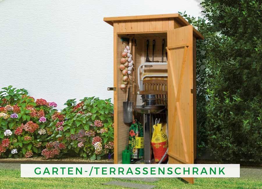 WEKA Garten/Terrassenschrank 361 Gr.1 14mm