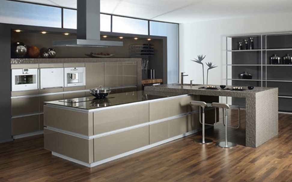 Best Modern Kitchen Design Ideas Modern Aluminium Kitchen 400 x 300