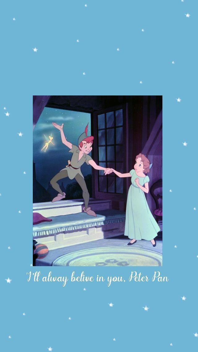 Iphone 5 Wallpaper Neverland Quotes Disney Disney Wallpaper