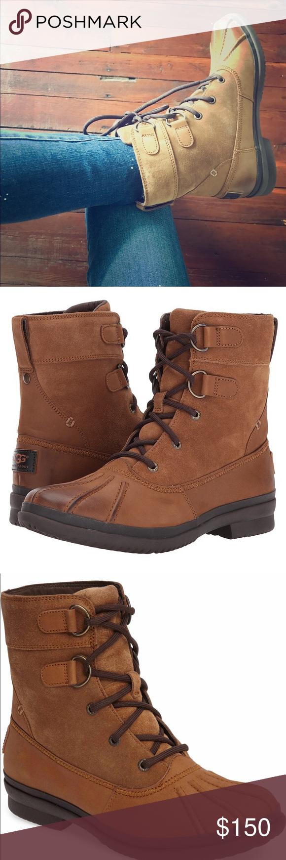 Ugg Azaria Duck Boots NIB | Boots, Duck