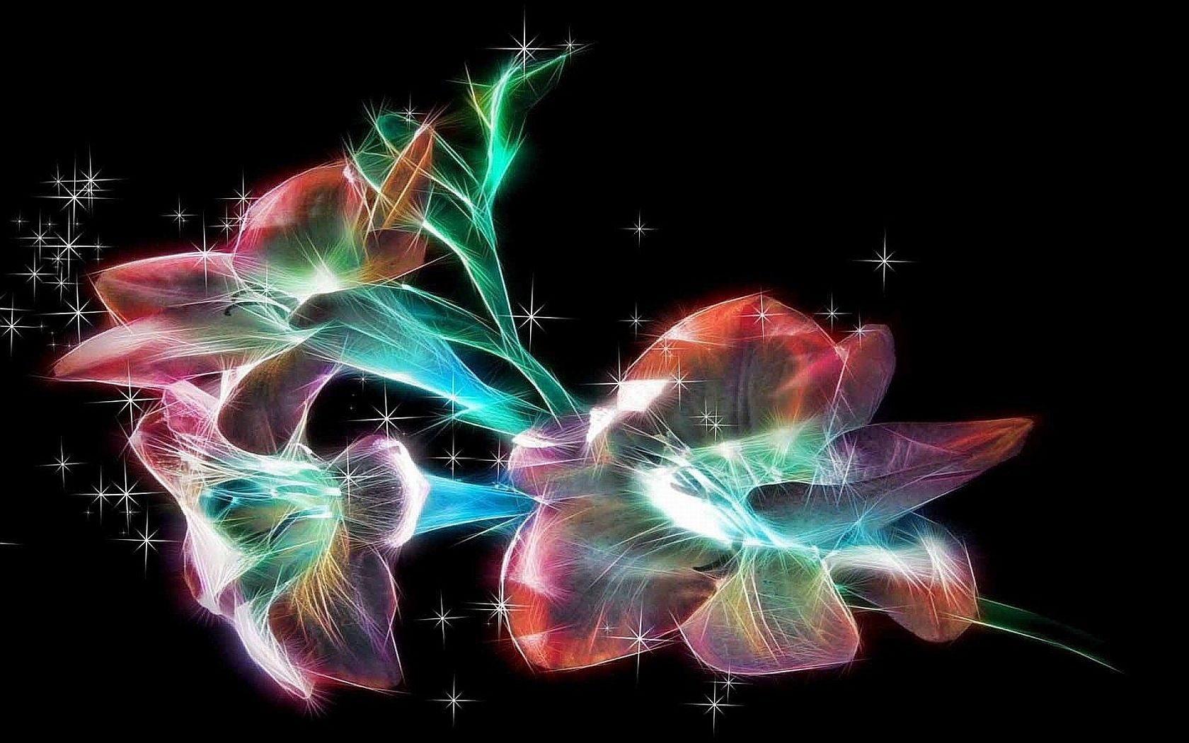 Image gallery sparkly flowers for Fond ecran cellulaire
