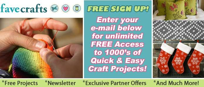 1000s of Free Craft Projects, Patterns, and More
