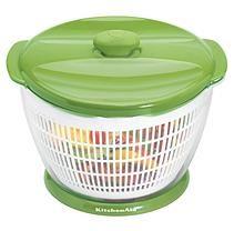 Kitchenaid Salad And Fruit Spinner Green Salad Spinner
