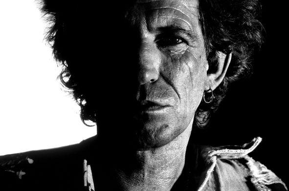 Keith Richards © Claude Gassian