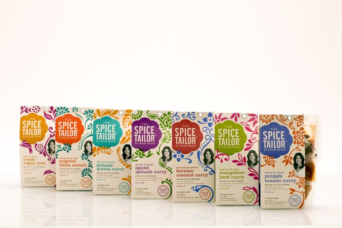 'The Spice Tailor' curry sauce range - Foodepedia