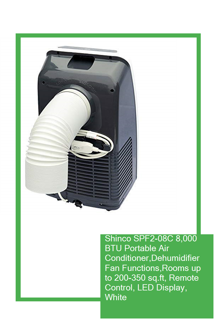 Shinco SPF208C 8,000 BTU Portable Air Conditioner