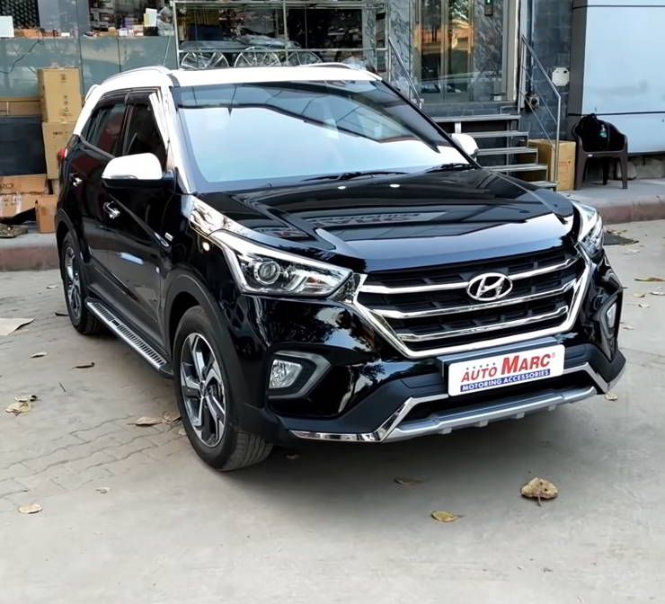 Hyundai Creta Modified With All Red Leather Interiors Video Hyundai Compact Suv Renault Duster