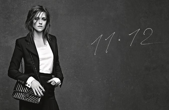Kristen Stewart y los nuevos bolsos de Chanel