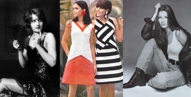 Istoria modei in imagini. Vezi cele mai importante trenduri ale ultimului secol!