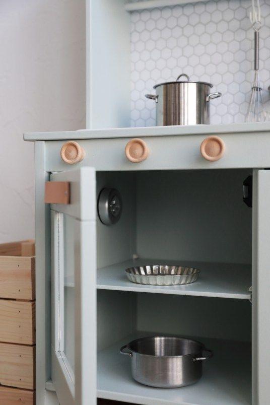 Ikea hack comment relooker la cuisine pour enfant duktig
