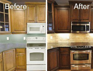 Sensational The Complete Color Change On Cabinets Involves A Much More Download Free Architecture Designs Salvmadebymaigaardcom