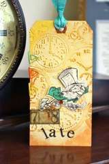 Project Ideas for Sizzix - Tim Holtz - Texture Fades - Alterations Collection - Embossing Folders - Clock and Steampunk Set