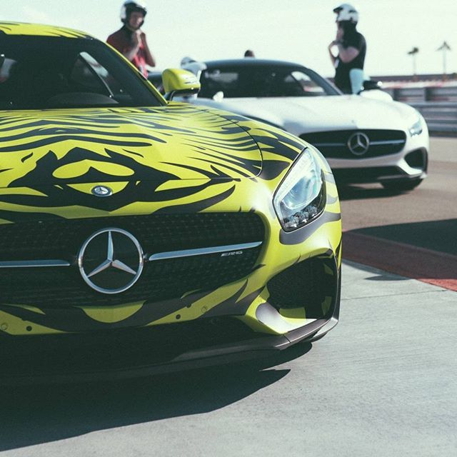 AMG GT S ready for the track! Photo by @RVT3. [Mercedes-AMG GT S | Combined fuel consumption: 9.6-9.4 l/100km | CO2 emission: 224-219 g/km] #MercedesBenz #MercedesAMG #Mercedes #Benz #AMG #AMGGTS #track #camo by mercedesbenz