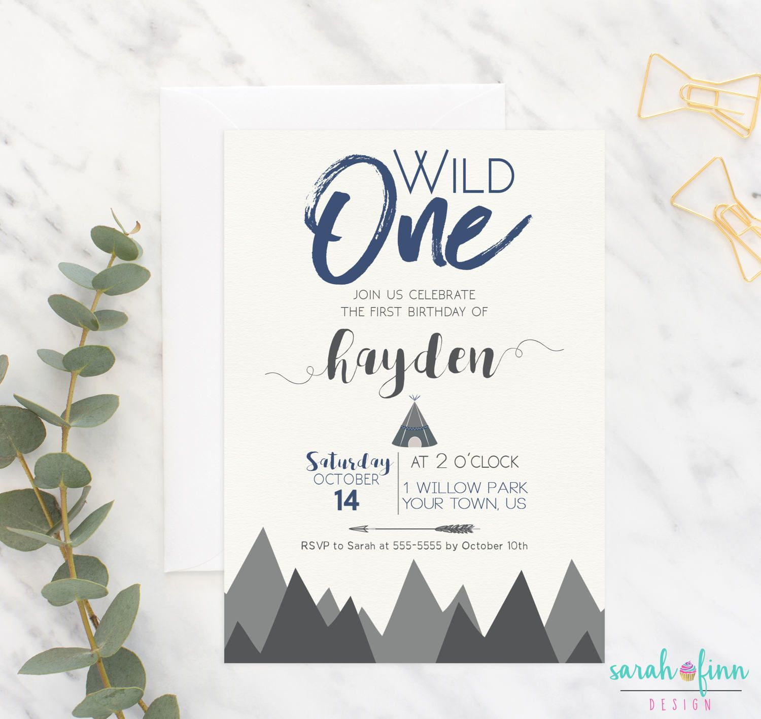 first birthday invitation template india%0A    wild one first birthday invitations  printed boy  st birthday invitations   black and white arrow invites  first birthday arrow invites   Arrow